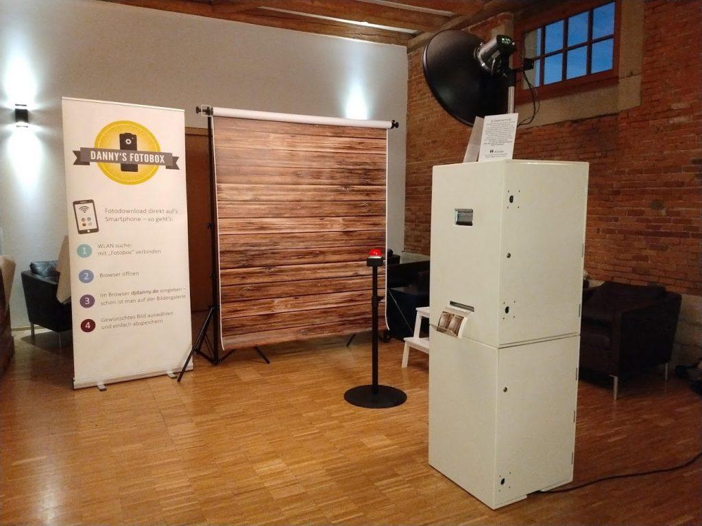 Schafstall Achalm - Unsere Fotobox im Foyer (sofern Hirtenzimmer nicht belegt)